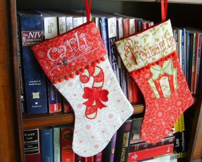 Lyndas Christmas Stockings