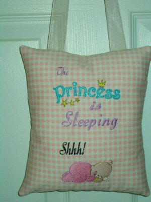 Lyns Hush Baby Too and My Fair Princess Pillows