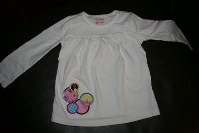 Shellys Lots of Dots Applique Shirt