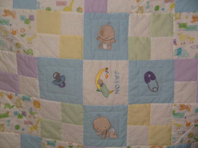 Karens Oh Baby Quilt