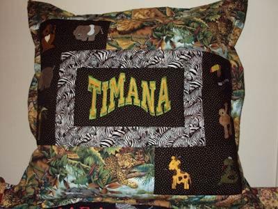 Kylies Jungle Safari Cushion