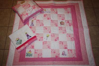 Marys Princess Quilt Set