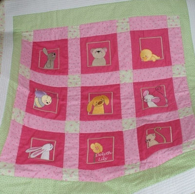 Rosemarys Spring Moments Quilt
