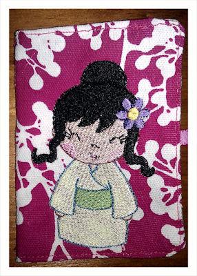 Jos Tea Bag Holder - Kokeshi Dolls