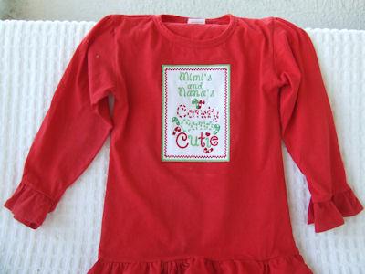 Cherrie Candy Cane Cutie Shirt