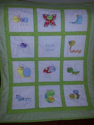 Diana Bug Off Quilt