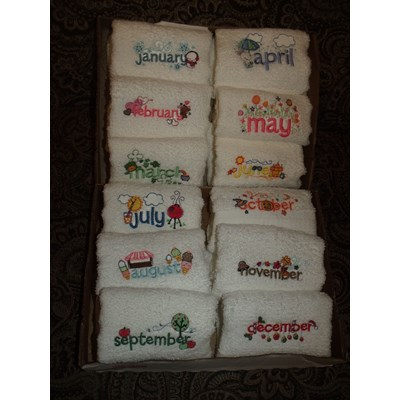 Barbies Month Towels
