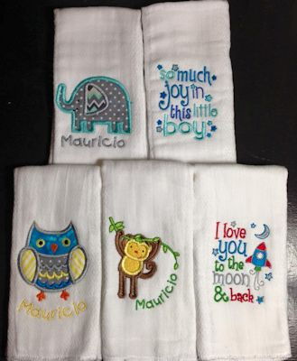 Graciela Burp Cloths Jan 16