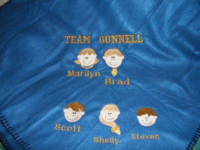 Mels Little Faces Blanket
