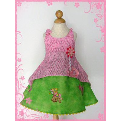 Rebeccas Pretty Ponies Dress