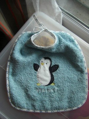 Florence Sweet Applique Animals Too Bib