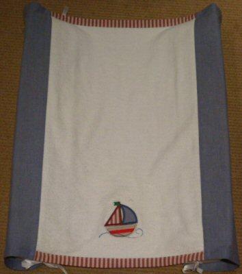 Karens Nautical Applique Change Mat