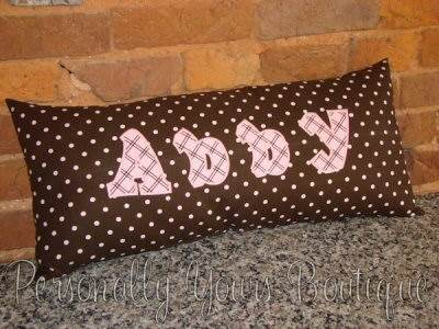 Personally Yours - Kids Alpha Applique Add On