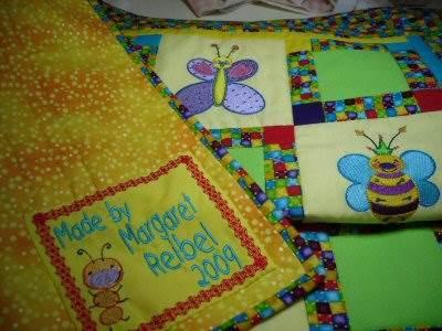 Margaret Doodle Bugs Quilts