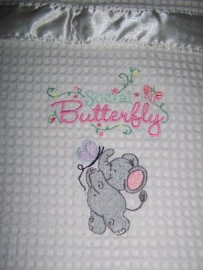 Rias Little Nellie Blanket