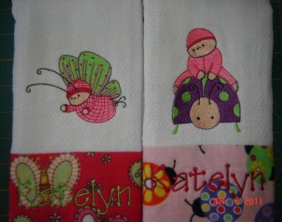 Gretas Bubba Boo In Spring Burp Clothers