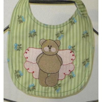 Jennifers Fairy Bears Bib