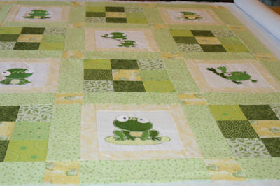 Kathy In My Pond Quilt