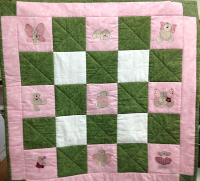 Sues Fairy Bears Quilt