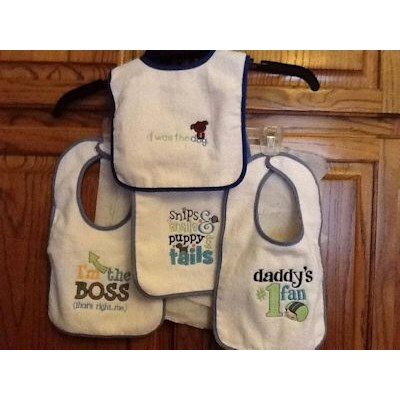 Mary Sentiments Bib Collection
