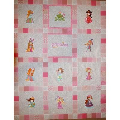Lindy Lou Kidsworld My Fair Princess Quilt 2017
