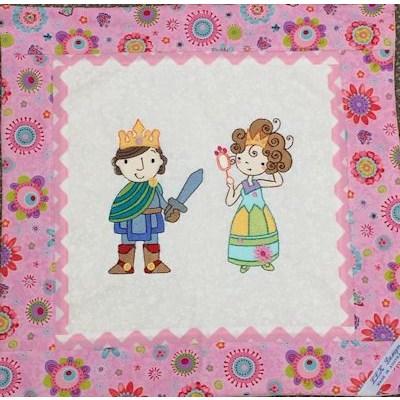 Lindy Lou Kidsworld Prince and Princess Cushion Cover
