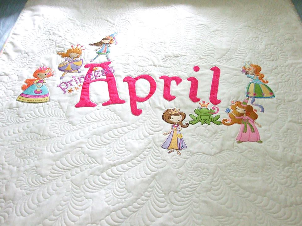 Lindy Lou Kidsworld My Fair Princess Quilt Jul 17