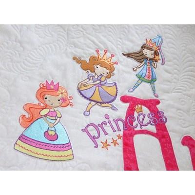 Lindy Lou Kidsworld My Fair Princess Quilt Jul 17