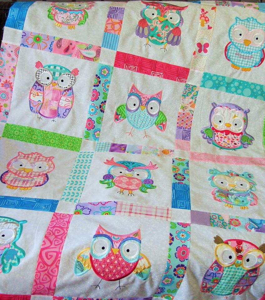 Lindy Lous Kidsworld What A Hoot Quilt