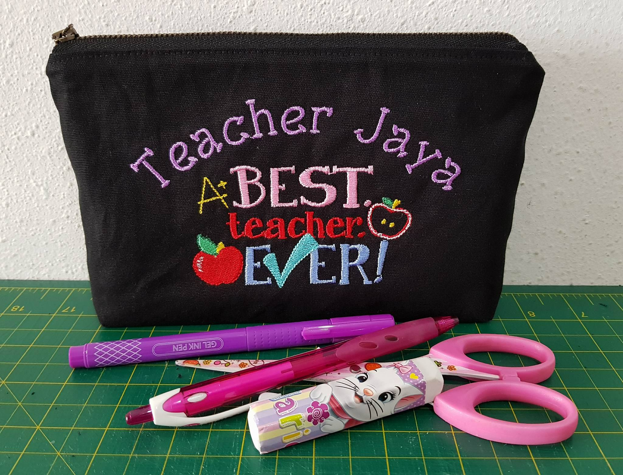 Gladys Dear Teacher Bag Jul 17