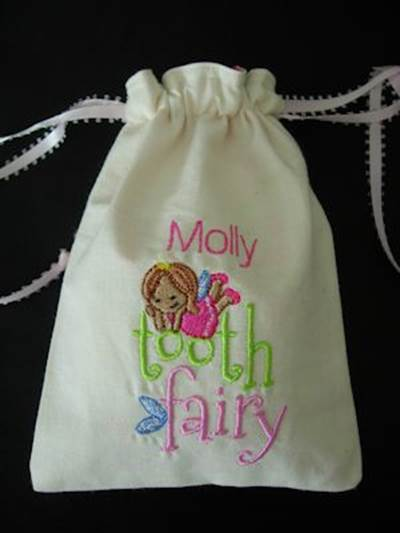 Melissa Tooth Fairy Bags
