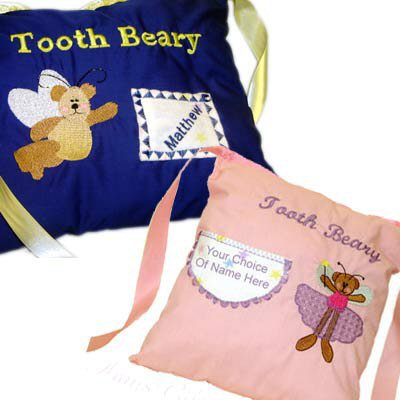 Lauras Tooth Fairy Pillows