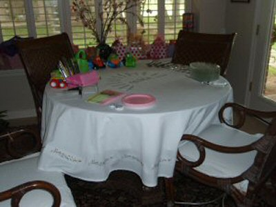 Ronas Happy Birthday Table Cloth