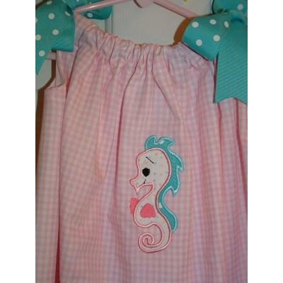 Christis Sweet Sea Applique Dress