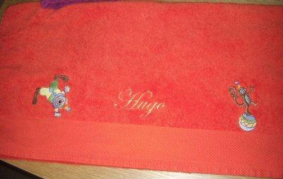Florence Circus Bath Towel