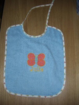 Florence Sweet Inspirations Butterfly Bib