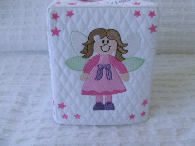 Cherrie - Tooth Fairy Tissue Box