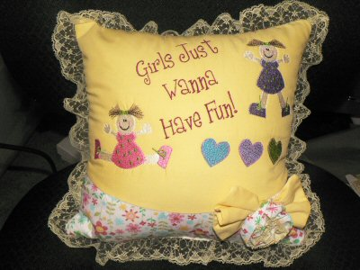 Fiona - Just Girls Pillow