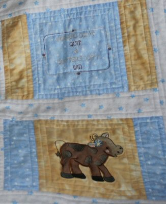 Kathy - Farmyard Applique Quilt