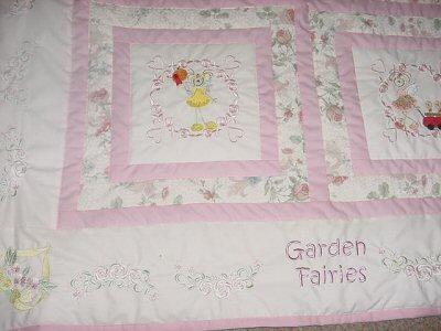 Margaret - Garden Fairies Quilt
