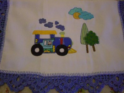 MIrta - Things That Go Vroom Burp Cloth