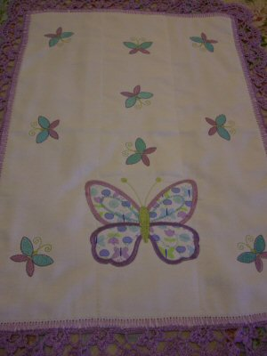 Mirta - Spring Cuties burp cloth