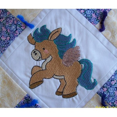 Rons Pretty Ponies Quilt