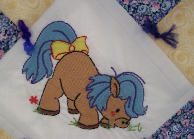 Rons Pretty Ponies Quilt