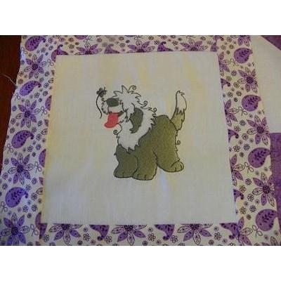 Tammys Fluffy Puppies Quilt