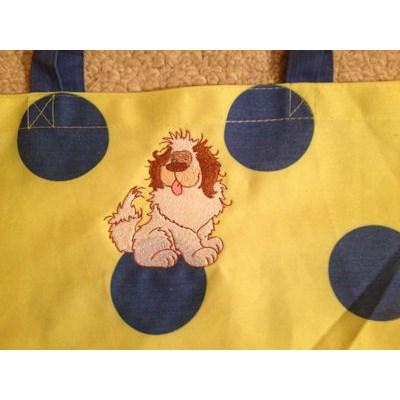 KC Fluffy Puppies Bag