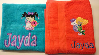 Lisa Applique Towels