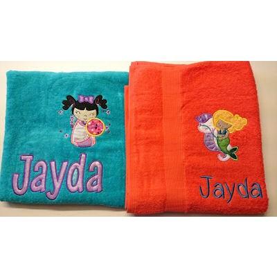 Lisa Applique Towels