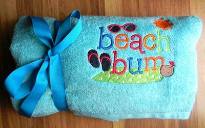 Angel Summer Loving Towels