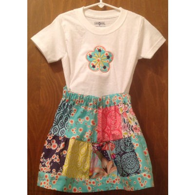Ellie Fabulous Flower Girls Outfit